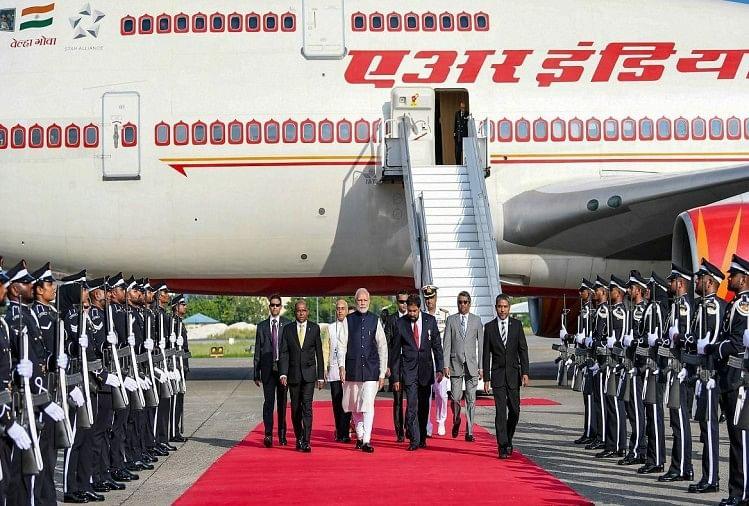 modi government spends 280 million rupees on pm modi foriegn tour