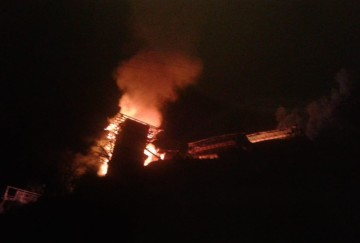 11 houses gutted in fire in kullu himachal pradesh