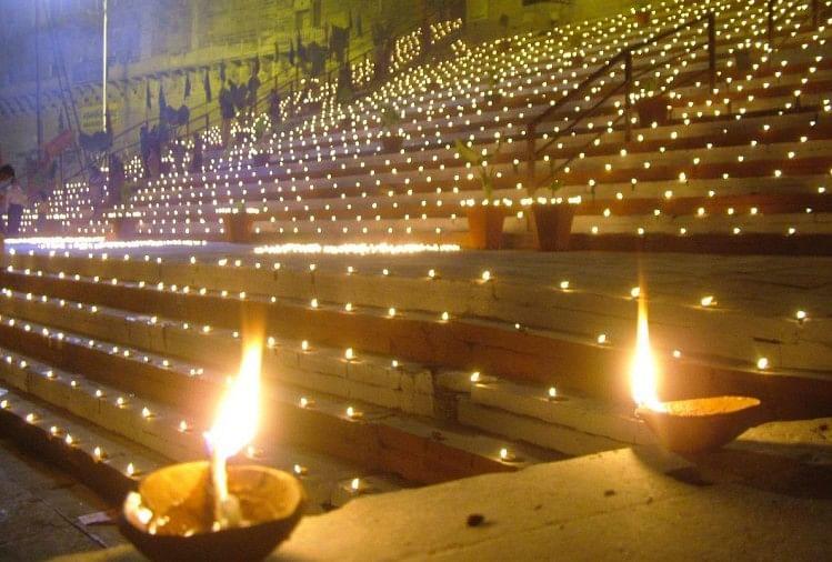 Image result for dev deepawali varanasi
