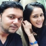 Chahat Khanna and Farhan Mirza