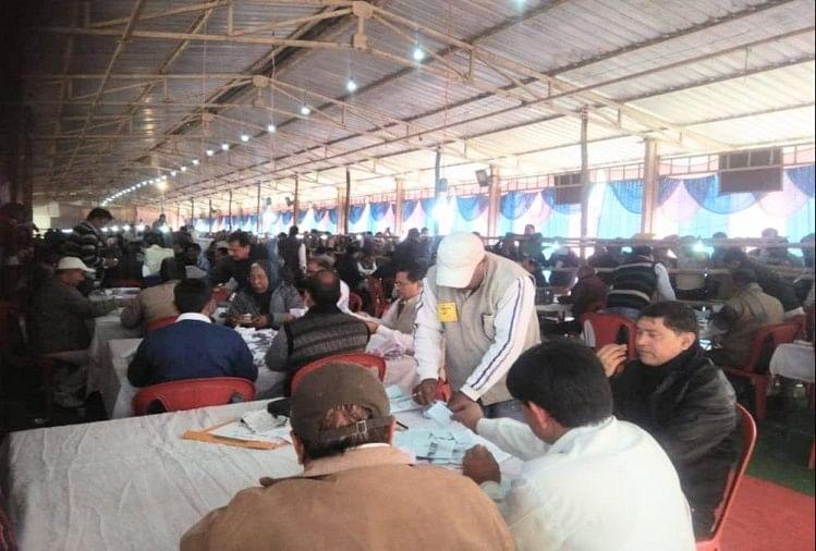 निकाय चुनाव मतगणना