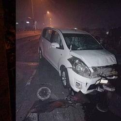 हरियाणा के हिसार में फुटपाथ में सो रहे मजदूरों को कार ने कुचला, 3 की मौत, कई घायल