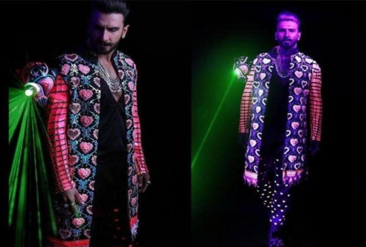 ranveer singh wedding bash look