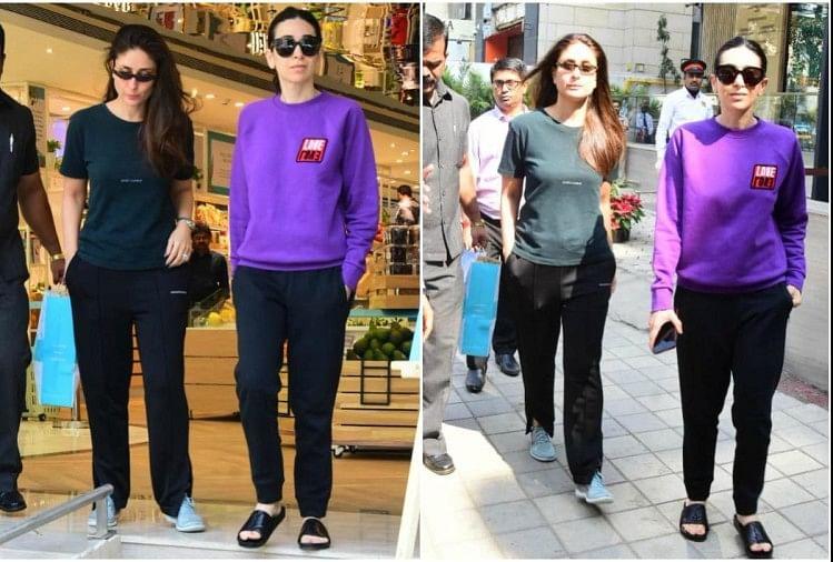 Think media Kareena Kapoor karisma spotted bandra mall mumbai