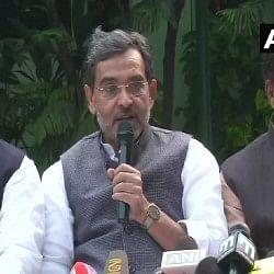 केंद्रीय मंत्री उपेंद्र कुशवाहा ने दिया इस्तीफा, कांग्रेस ने एनडीए से अलग होने पर दी बधाई