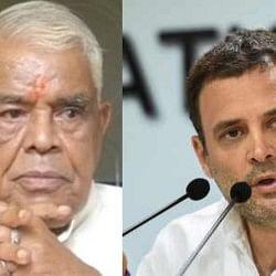 भाजपा के पूर्व मुख्यमंत्री बाबूलाल गौर कांग्रेस की टिकट पर भोपाल लोकसभा सीट से लड़ सकते हैं चुनाव