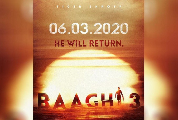 Image result for baaghi 3 poster