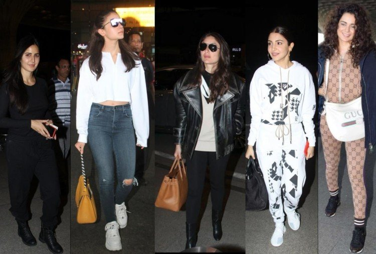 bollywood celebrities nailed airport look full of styles