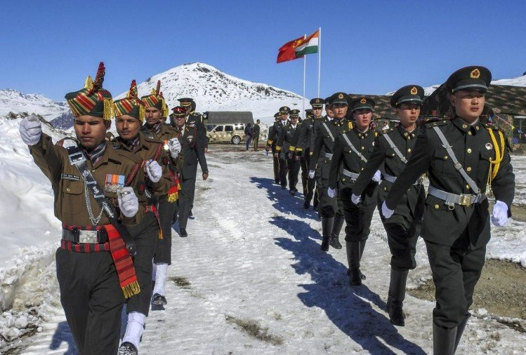 India China Soldiers Meet