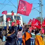 second day of trade union strike, see the pictures