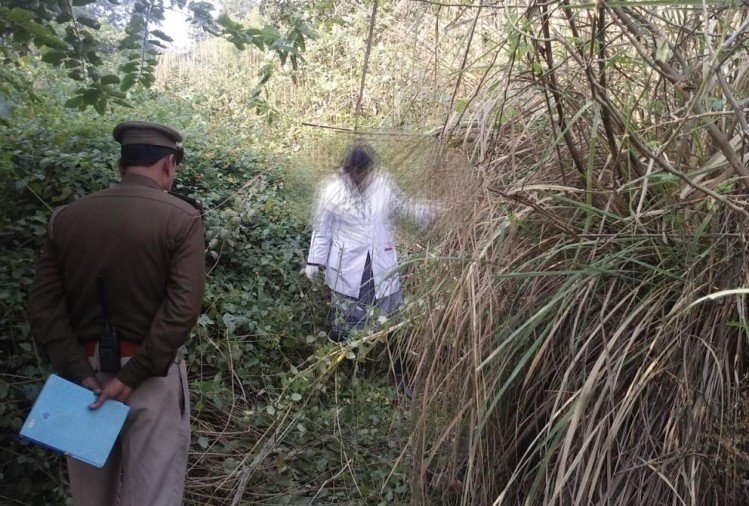 dead body of a teen aged girl found in raebareli.