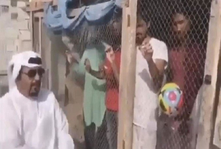 VIDEO: Afc asia cup: UAE Man Locks Up Indian Football Fans in Bird Cage Ahead of Asian Cup Match