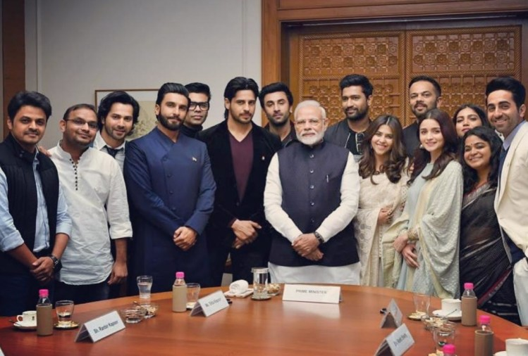 PM with Bollywood Celebrities