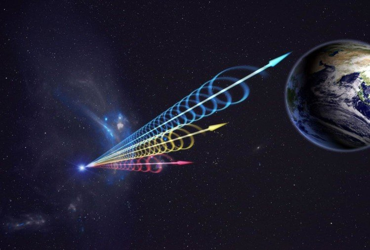 radio signals from universe
