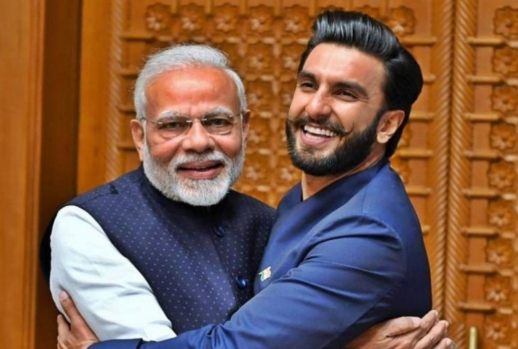 Ranveer Singh with PM