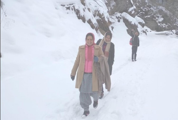 himachal weather report snowafll chances for next two days