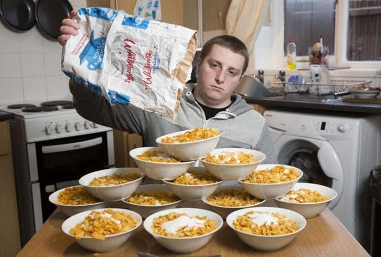 This british man eats 13 bowl corn flakes a day
