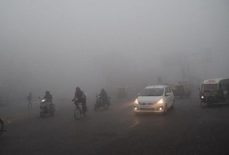 Meerut, Fog In West Up Increased And Now Will Also Cold - वेस्ट यूपी में छाया घना कोहरा, कड़ाके की ठंड से कांपे लोग - Amar Ujala Hindi News Live