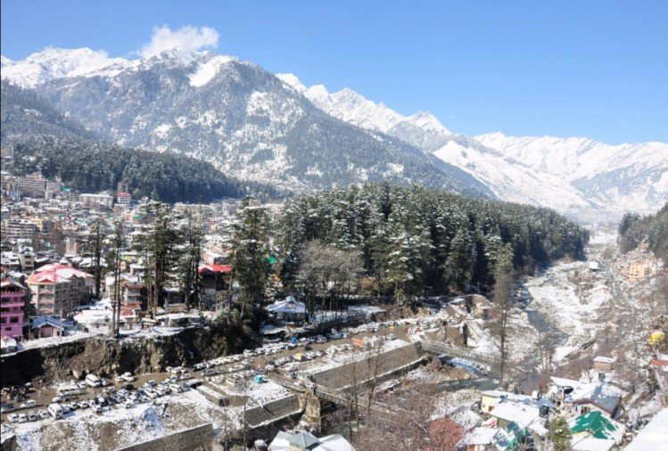 snowfall rainfall prediction for himachal from 19 january