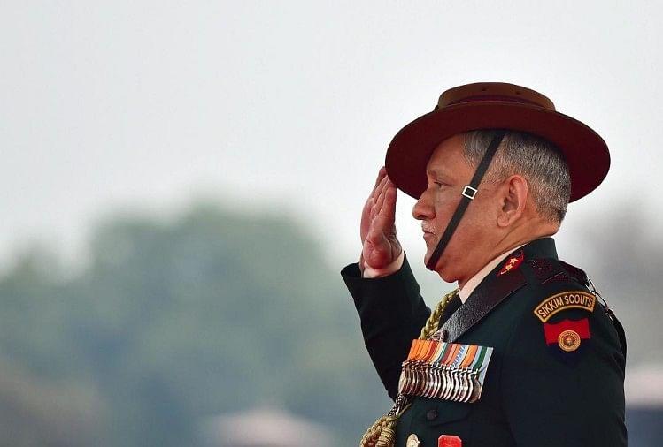थल सेना प्रमुख जनरल बिपिन रावत