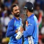 karthik and dhoni