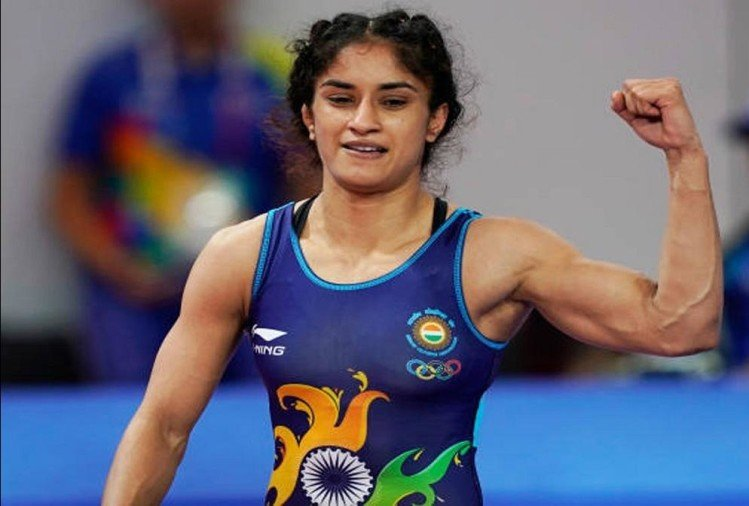 Vinesh Phogat Says She Has Tested Positive For Covid-19 - महिला पहलवान विनेश फोगाट कोरोना पॉजिटिव, आज मिलना है खेल रत्न पुरस्कार - Amar Ujala Hindi News Live