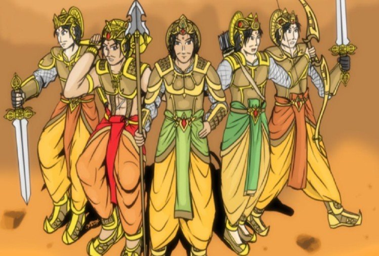 पांडव महाभारत (प्रतीकात्मक तस्वीर)