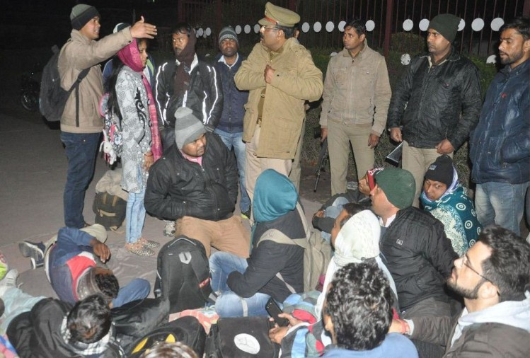 bed students protest