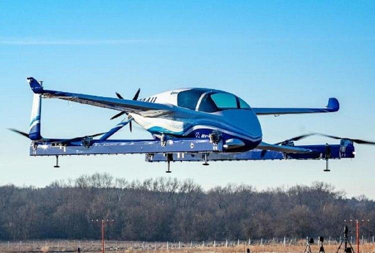 बोइंग ने उड़ने वाली टैक्सी का किया सफल परीक्षण