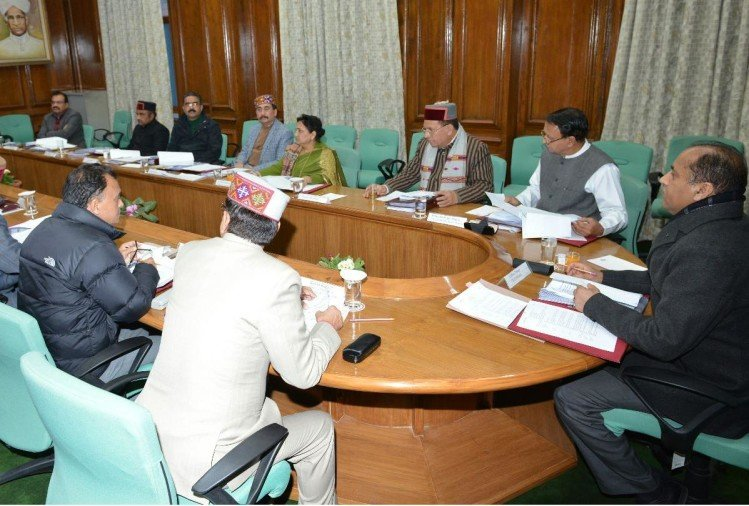 himachal cabinet meeting will be held on 25 february in shimla