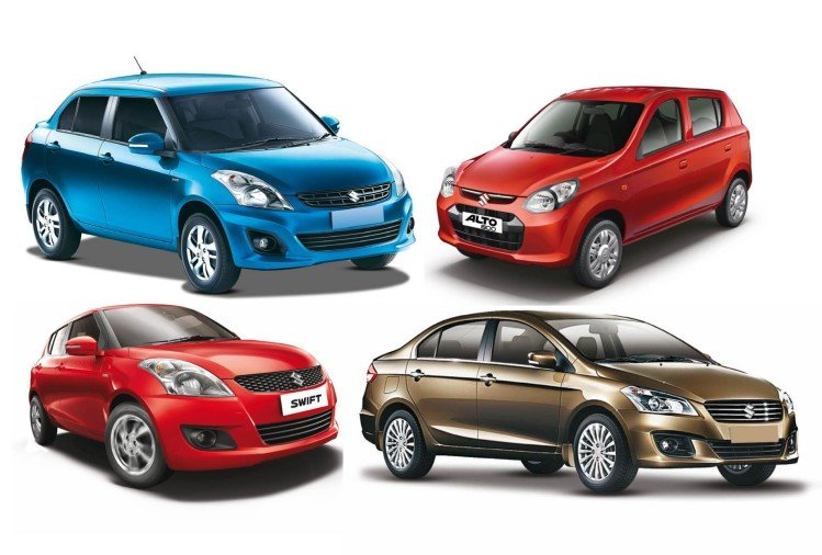 maruti group cars