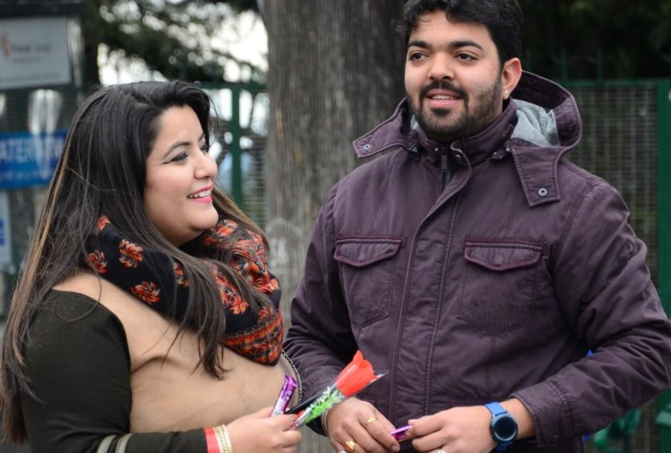 valentine day celebrations in Shimla himachal pradesh
