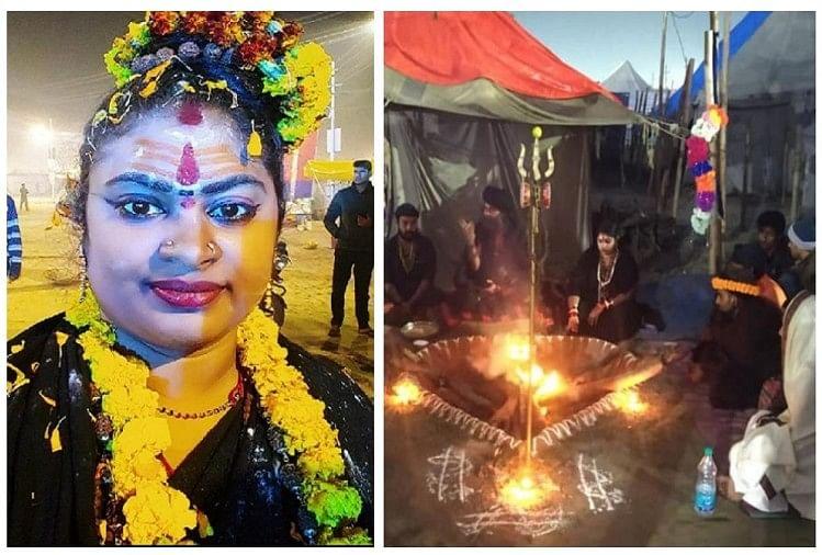 Image result for कुंभ में छाई ये महिला अघोरी,