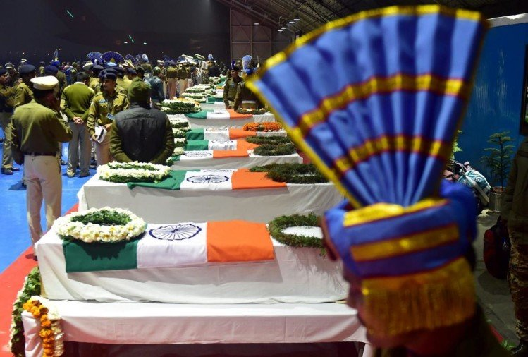 Pulwama terror attack: Aadhaar card and personal items helped identify the bodies of 40 CRPF martyrs