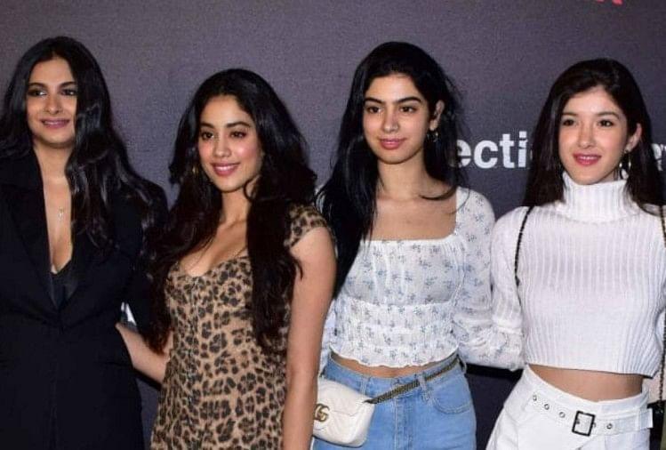 जान्हवी कपूर के बाद अब बहन करने जा रही है बॉलीवुड में एंट्री, हाथ लगा बड़ा  प्रोजेक्ट - Entertainment News: Amar Ujala