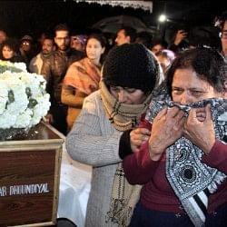 घर पहुंचा तिरंगा में लिपटा शहीद मेजर का पार्थिव शरीर, आज होगा भारत मां के इस वीर का अंतिम संस्कार