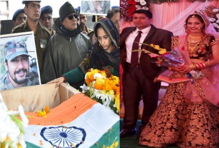 Pulwama Encounter one year : martyr vibhuti dhondiyal wife nikita become officer in indian army