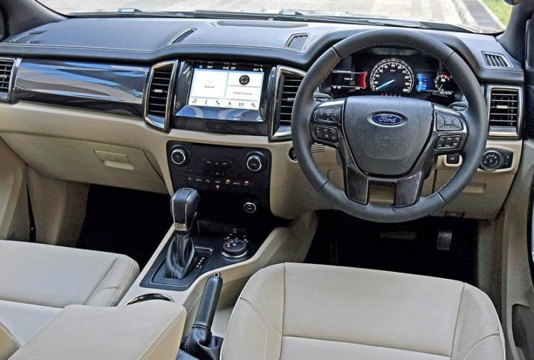 2019 Ford Endeavour Facelift interior