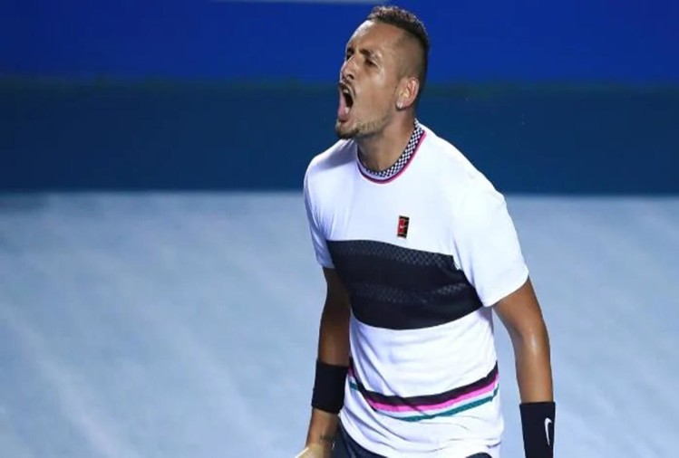VIDEO: Australian Nick kyrgios smashes two racquets and threw shoes towards crowd