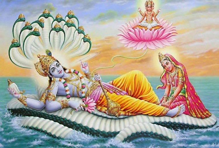 भगवान विष्णु और माता लक्ष्मी