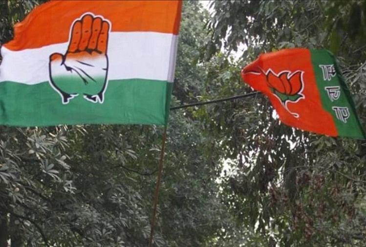 दो चरणों की वोटिंग का गणित और भाजपा-कांग्रेस के लिए संकेत,  क्या ये मुकाबला कांटे का है?
