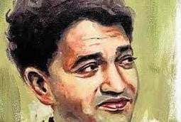 Shiv Kumar Batalvi Writes His Ghazal With Coal On Wall
