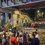 Photos of CSMT railway station in Mumbai Foot Over Bridge collapsed