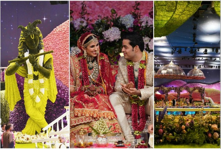 Akash Ambani shloka mehta wedding