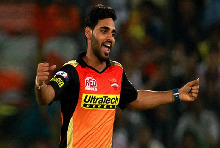 Bhuvneshwar Kumar leading Sunrisers Hyderabad vs KKR and set a unique record of captaincy