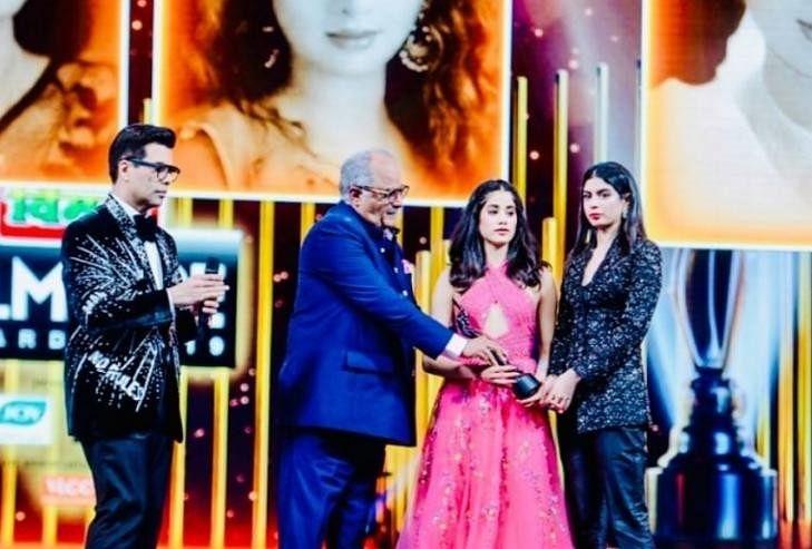 Filmfare Awards 2019 Sridevi Tribute Janhvi Kapoor Khushi