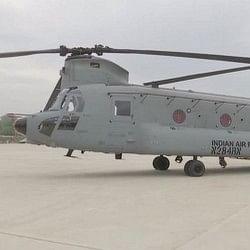 भारतीय वायुसेना के बेड़े में आज शामिल होगा 'चिनूक' हेलीकॉप्टर, लादेन का किया था खात्मा