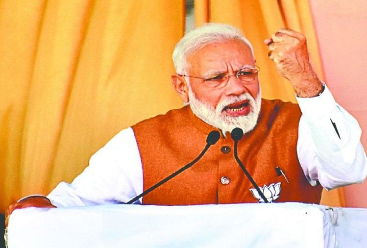 More Than 2014, This Election Is More Working On Modi Chemistry - 2014 से ज्यादा इस चुनाव में अधिक काम कर रहा है मोदी रसायन - Amar Ujala Hindi News Live