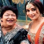 Madhuri Dixit and Saroj Khan
