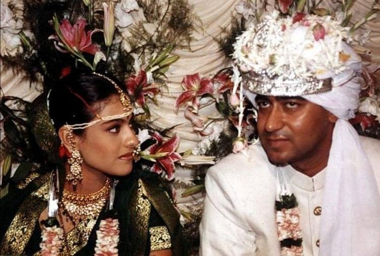 Image result for Ajay Devgn and Kajol wedding